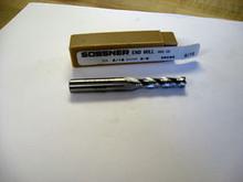 """OSG/Sossner #4909500  5/16"""" 4-Flute, Long, Roughing Cobalt Endmill New"""
