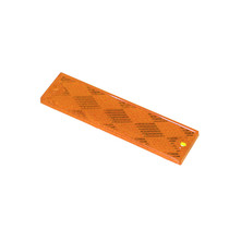 """Grote 1"""" x 4"""" Reflector Stick-On (Amber)"""