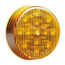 """Maxxima 2 1/2"""" Round Clearance Marker - Amber Clear"""