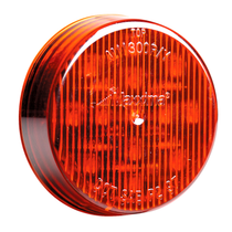 """Maxxima 2 1/2"""" Round Clearance Marker - Red"""