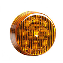 """Maxxima 2"""" Round Clearance Marker - Amber"""