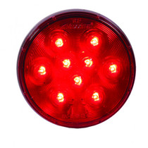 "Maxxima Lightning 4"" Round Red - STOP/TAIL/TURN"
