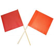 Orange Warning Flag