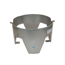 In The Ditch Prod In The Ditch 4-Gal. Aluminum Wrecker Trash Can Mount