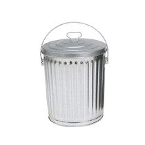 In The Ditch Prod Trash Can 4 Gallon Galvanized with Lid