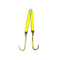 "B/A Products Grade 70 V-Straps - 30"" Legs With 15"" J Hook"
