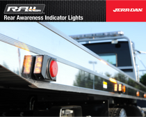 Jerr-Dan R.A.I.L.   FLASHER LIGHTS INSTALL PN 1001145076S