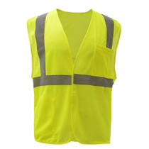 GSS Class 2 Mesh, Hook & Loop Safety Vest, Lime