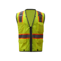 GSS Class 2 Hyper-Lite Safety Vest, Lime