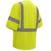 Class 3 Mesh Hook & Loop Vest with Sleeves, Lime