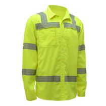 GSS ONYX Class 3 Lightweight Ripstop, Button Down Shirt, Lime