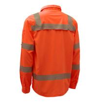 GSS ONYX Class 3 Lightweight Ripstop, Button Down Shirt, Orange
