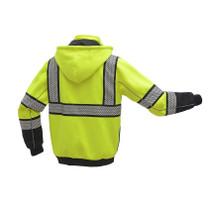 GSS ONYX Class 3 Heavy Winter Sweatshirt, Lime