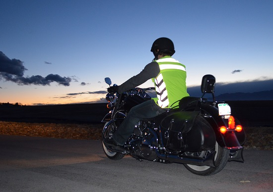 Motorcyclist - Hi Visbility Gear - Hi Vis Clothing