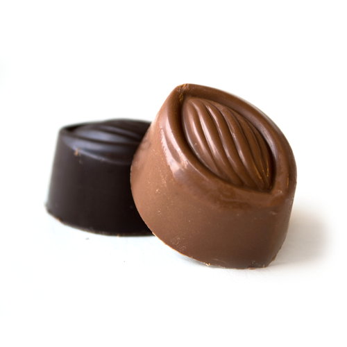 Chocolate Meltaways made from the finest chocolate from Lang's Chocolates, dark chocolate meltaways, milk chocolate meltaways, mint meltaways, peanut butter meltaways
