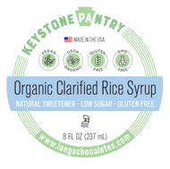 Keystone Pantry Organic Clarified Rice Syrup