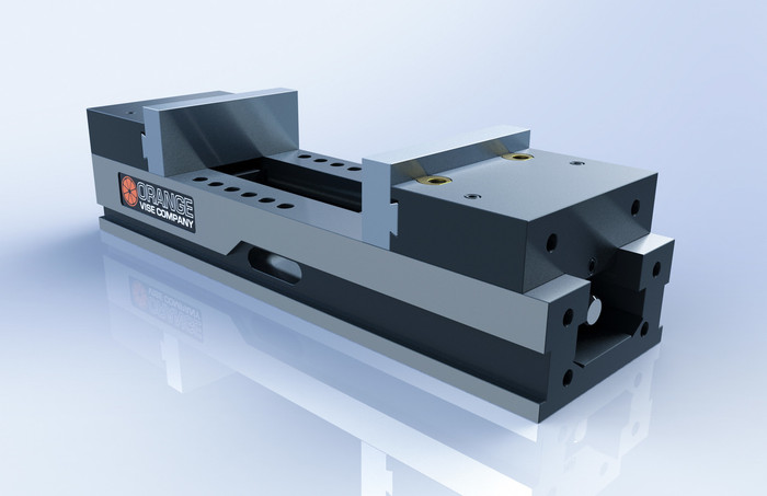 Shown with optional aluminum dovetail jaws