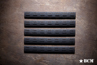 BCM® Gunfighter KeyMod™ Rail Panel Kit, 5.5-inch Five Pack