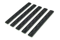 BCM­® Gunfighter M-LOK™ Rail Panel Kit, 5.5-inch Five Pack