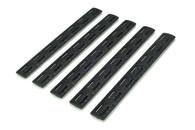 BCM® Gunfighter M-LOK™ Rail Panel Kit, 5.5-inch Five Pack