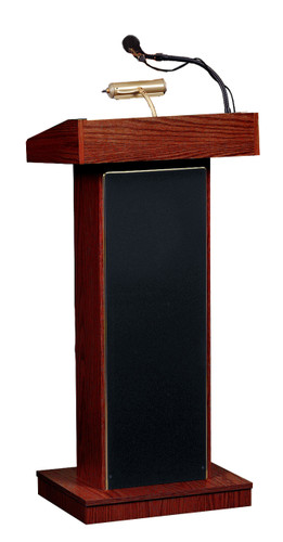 The Orator® Standard Height Lectern By Oklahoma Sound - 3 Colors