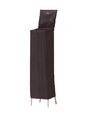 8-Capacity Waterproof Chiavari Chair Cover - Black