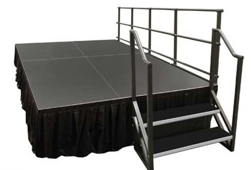 Alulite Stage Skirting for  Aluminum Stage Decks -