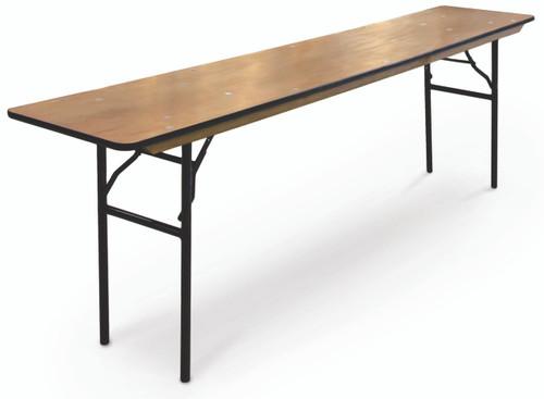 ProRent Plywood Seminar Folding Table-USA Made (MC-PR-SEMINAR) - USA