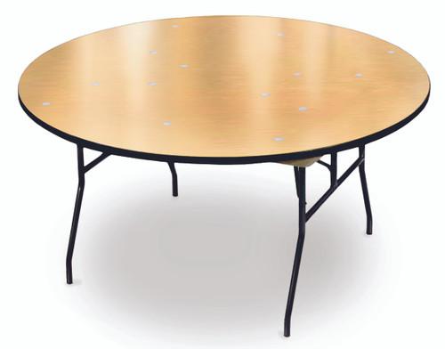ProRent Plywood Round Folding Table-USA Made (MC-PR-ROUND) - USA
