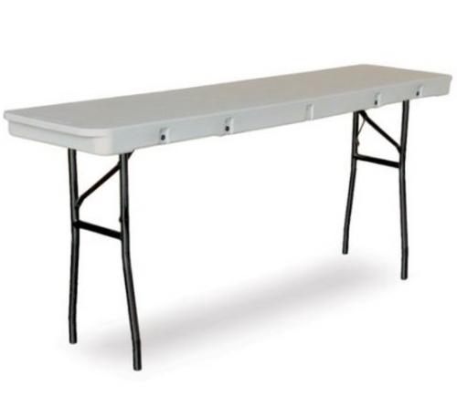 Commercialite Seminar Plastic Folding Table-USA Made  - USA