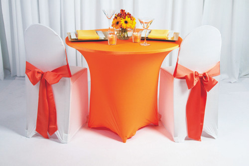 Spandex Table Linen - 10+Colors-20+Free Ship