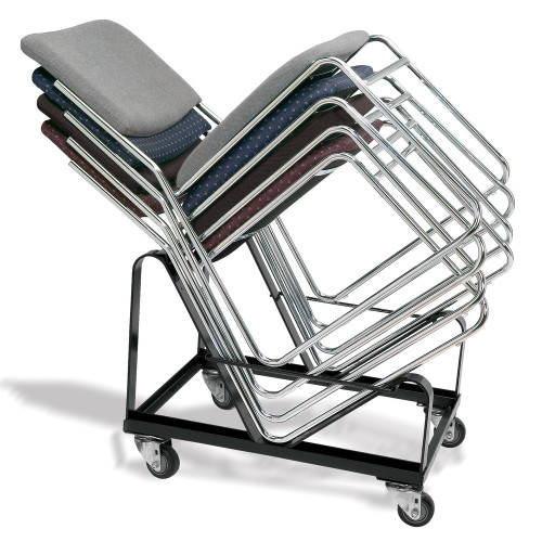 20-Capacity Stack Chair Dolly By National Public Seating, Model DY-86 - 10Warranty
