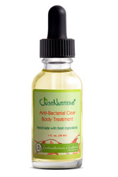Acne Anti Bacterial Body Clear Treatment - natural anti-bacterial ingredients