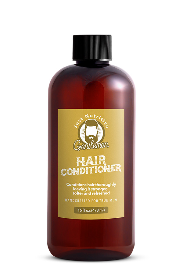 Hair Conditioner Bottle - Just Nutritive Gentlemen