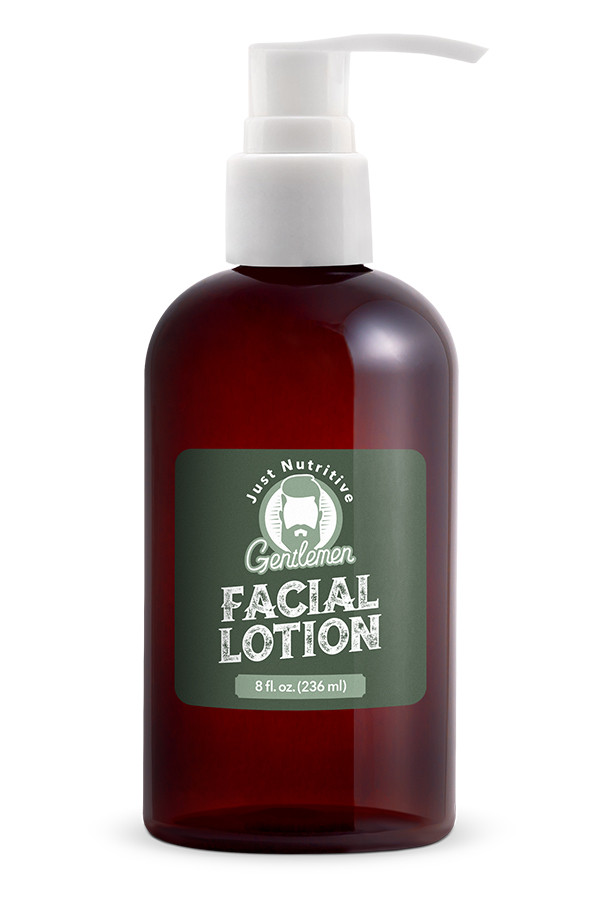 Facial Lotion Bottle - Just Nutritive Gentlemen