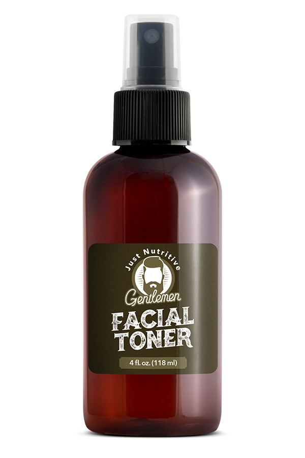 Facial Toner Bottle - Just Nutritive Gentlemen