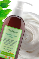 Peppermint Foot Lotion -  Skin Care Lotion