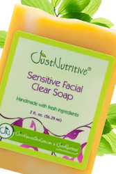 Acne Sensitive Facial Clear Soap #Sensitive Facial Acne Soap#