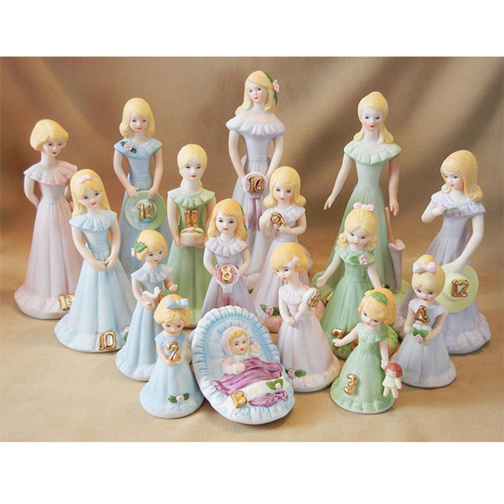 Growing Up Girls -- Blonde Age 5