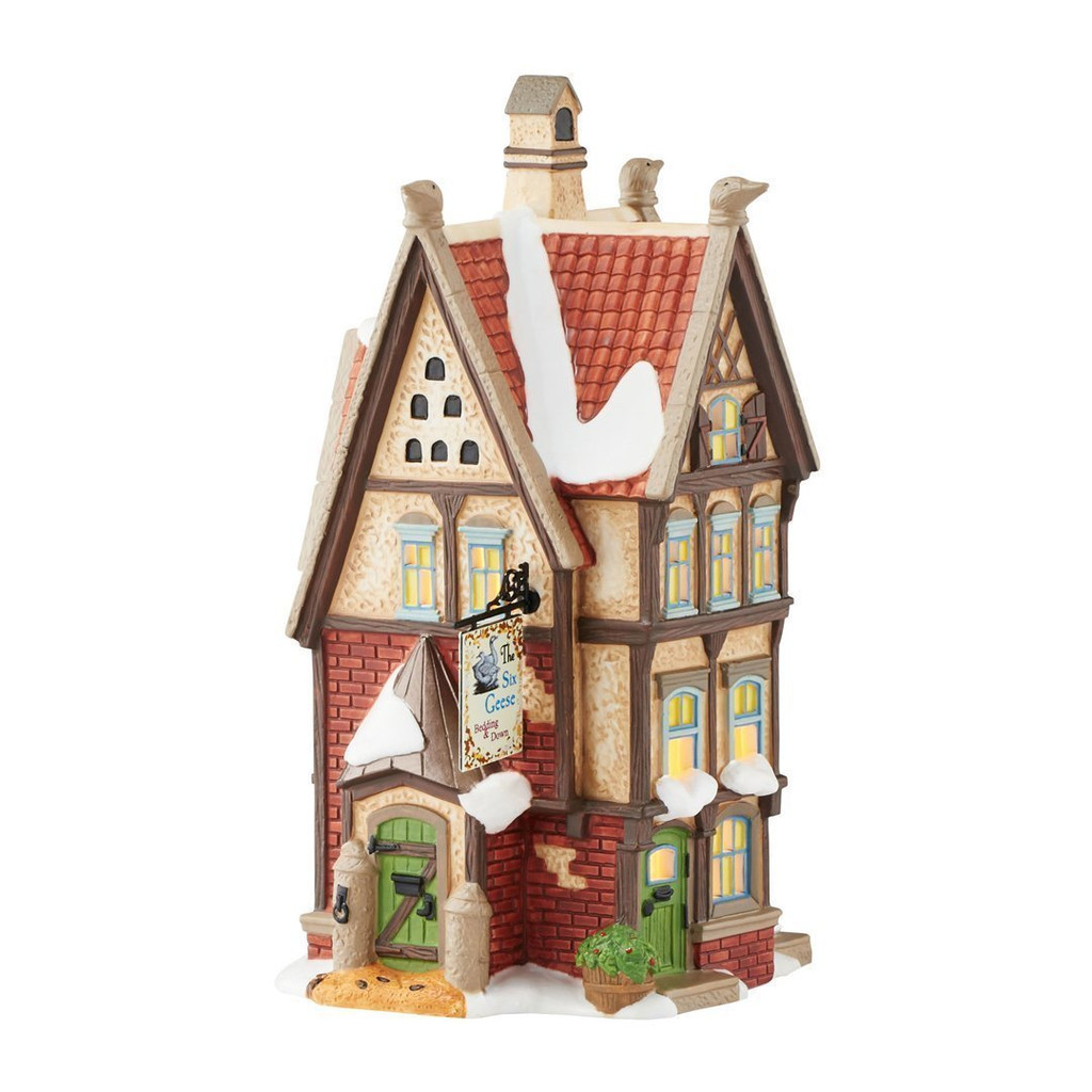 Department 56 - Dicken's Village -The Six Geese Bedding & Down