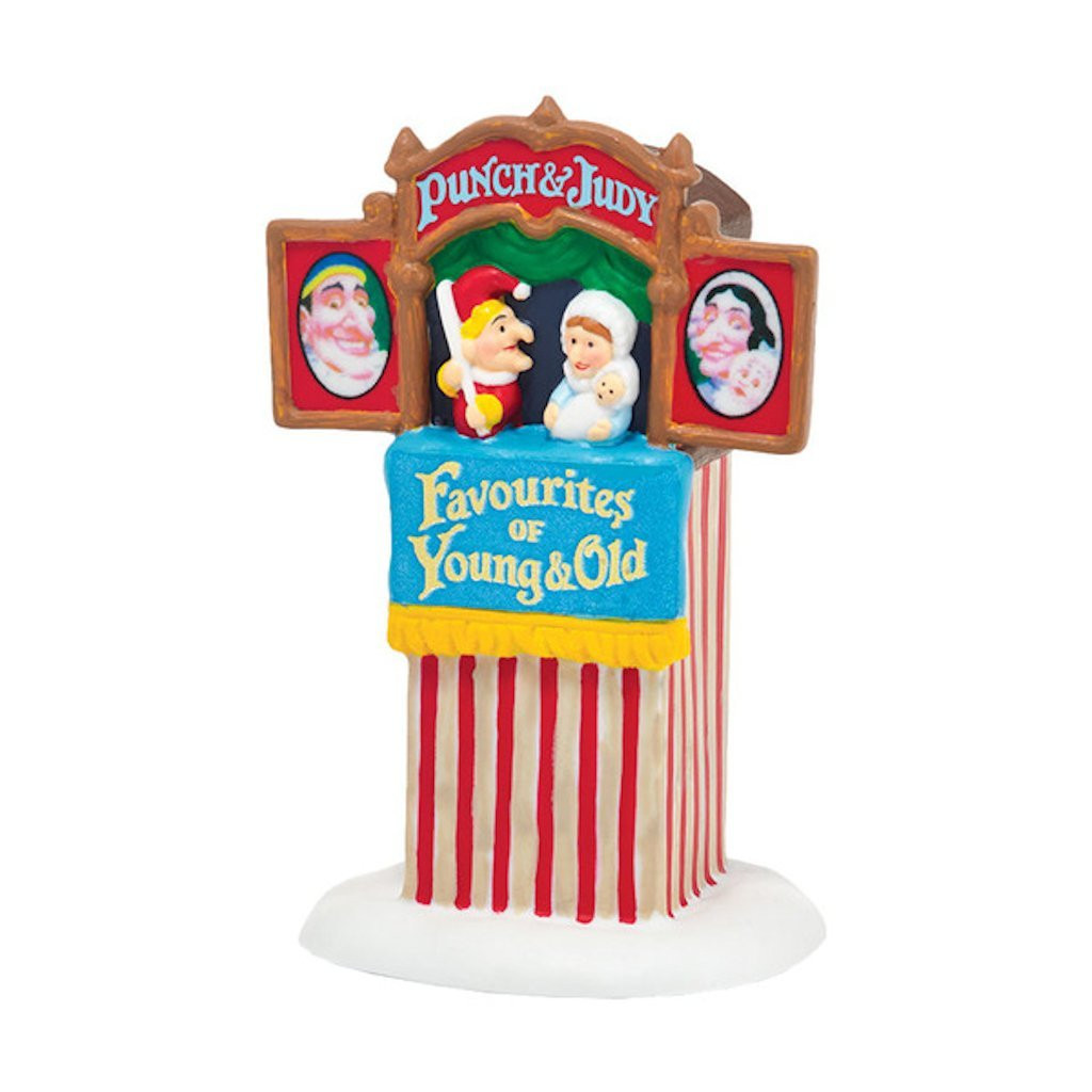 Department 56 - Saturday With Punch & Judy | Department 56 Figurine