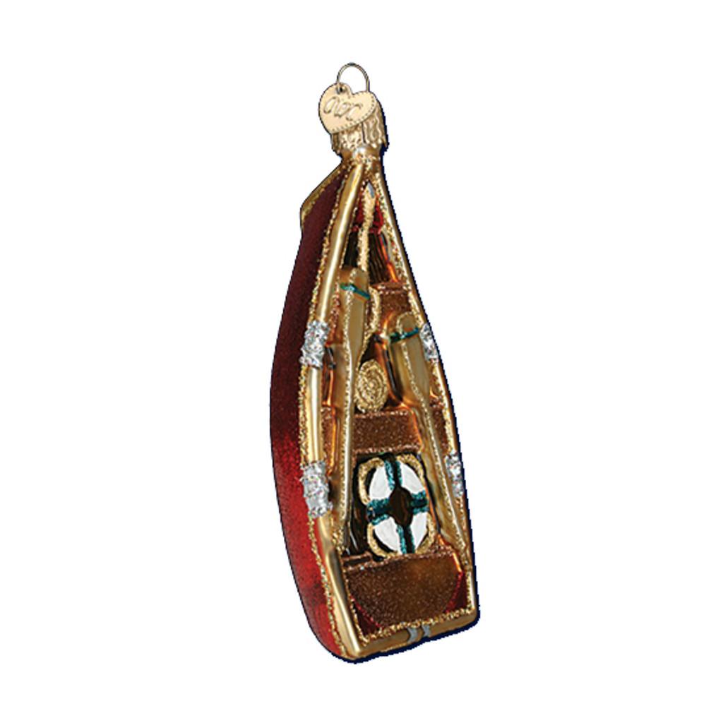 Old World Christmas - Rowboat Ornament