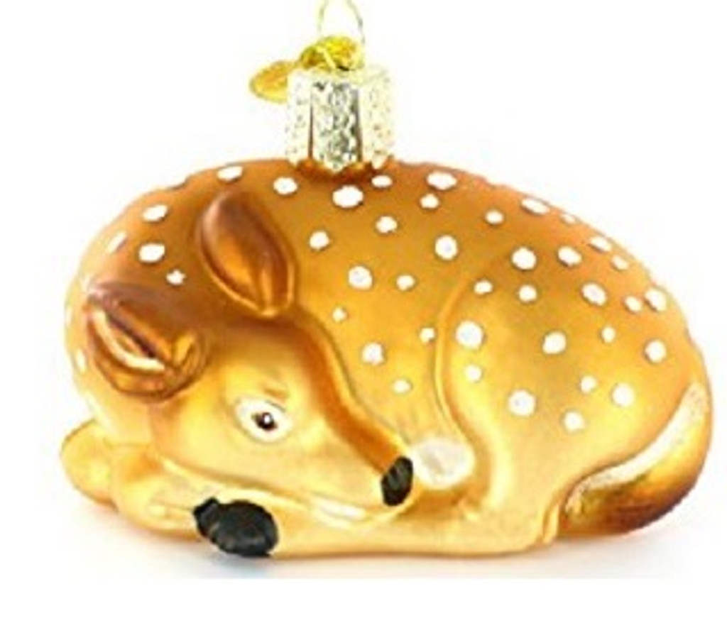 Old World Christmas -Fawn Ornament