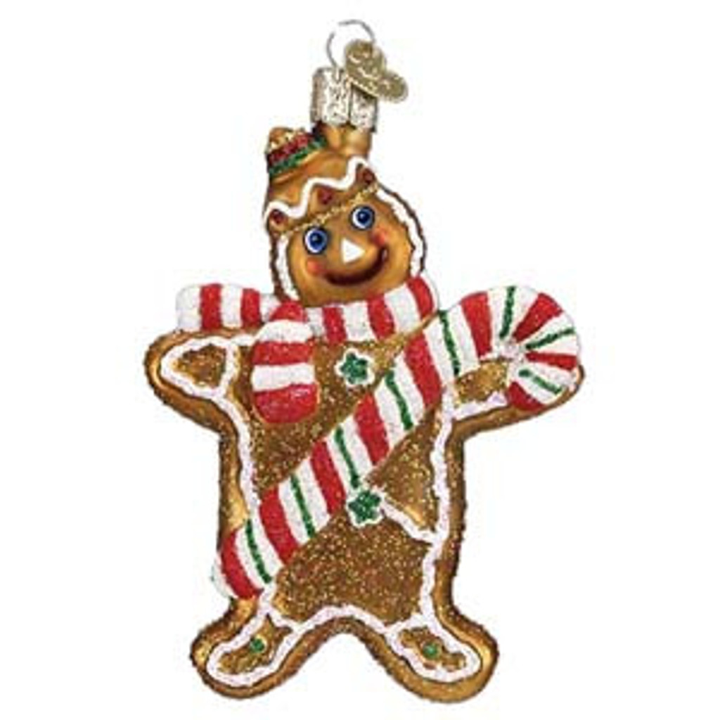 Old World Christmas - Gingerbread Man Ornament