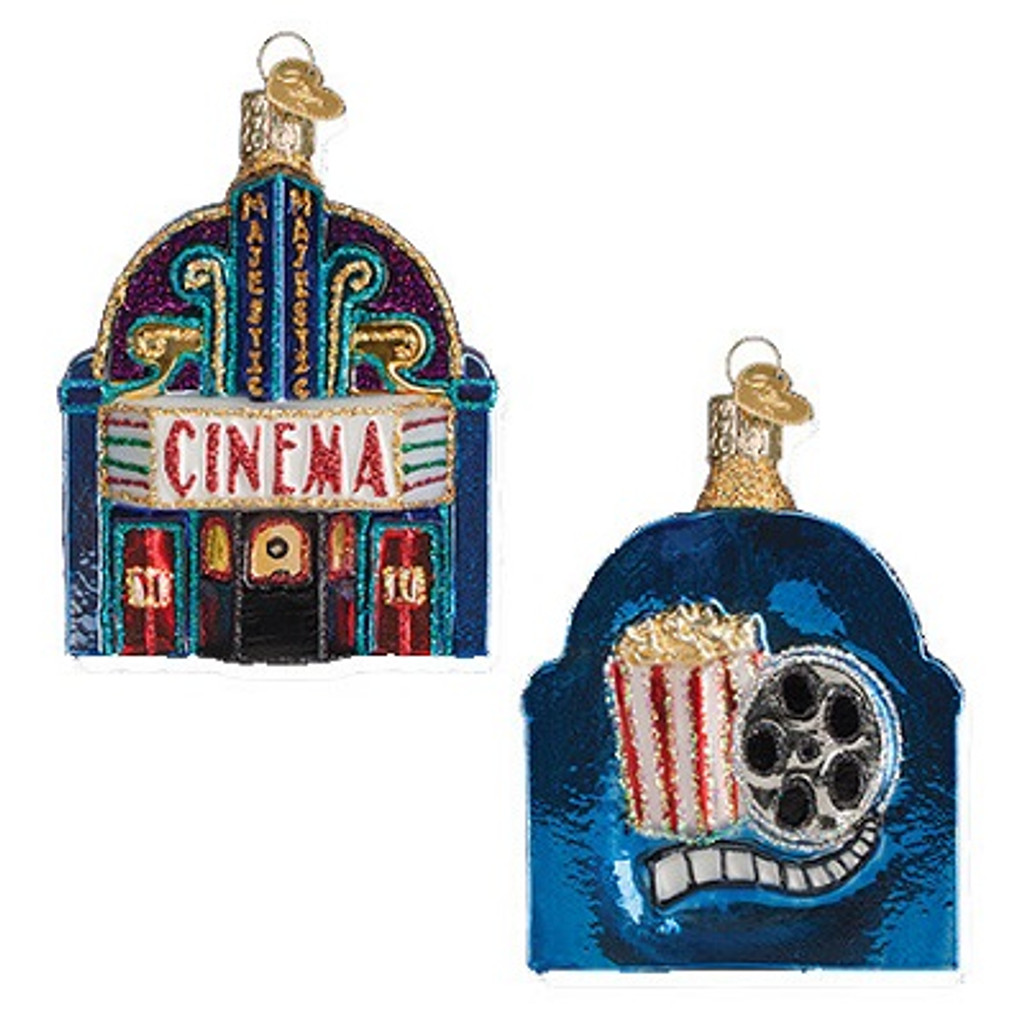 Old World Christmas - Majestic Cinema Ornament