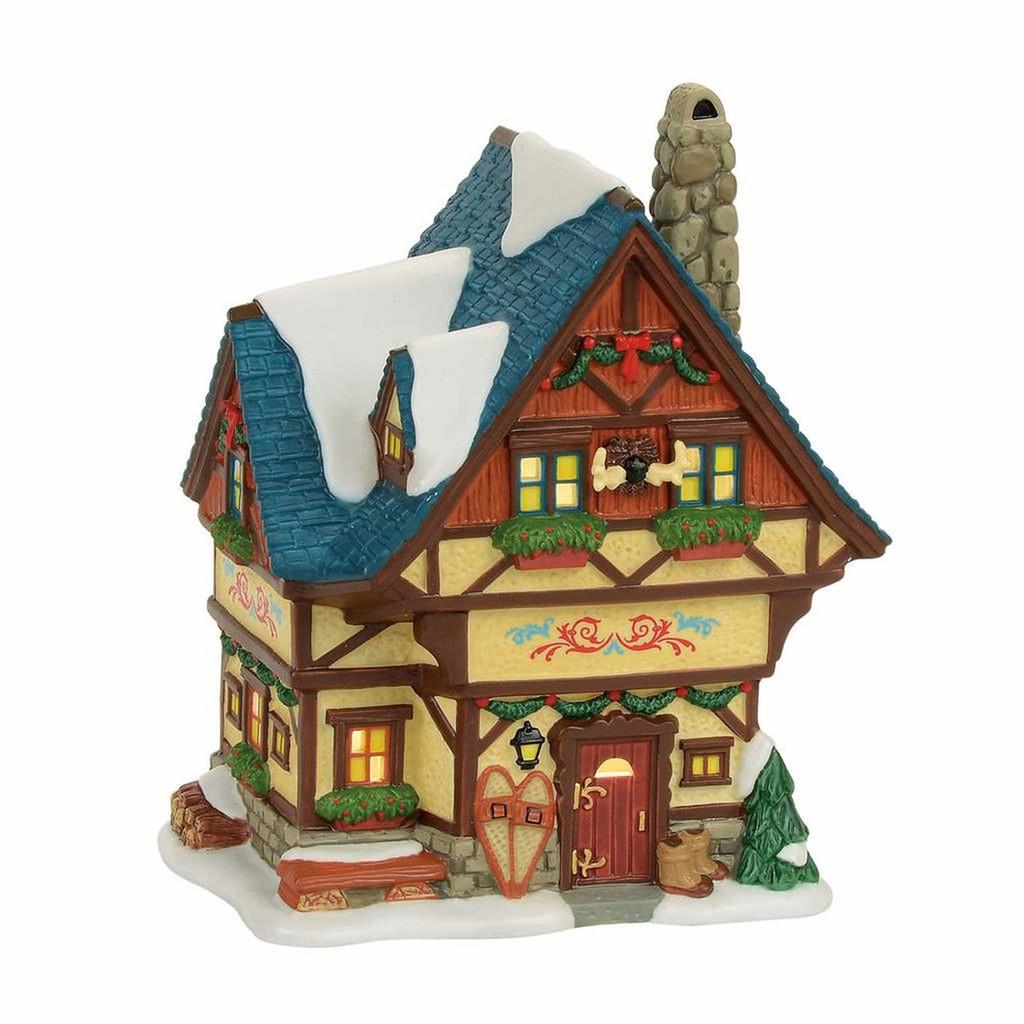 *2017* Department 56 - Alpine Village - Bavarian Cottage