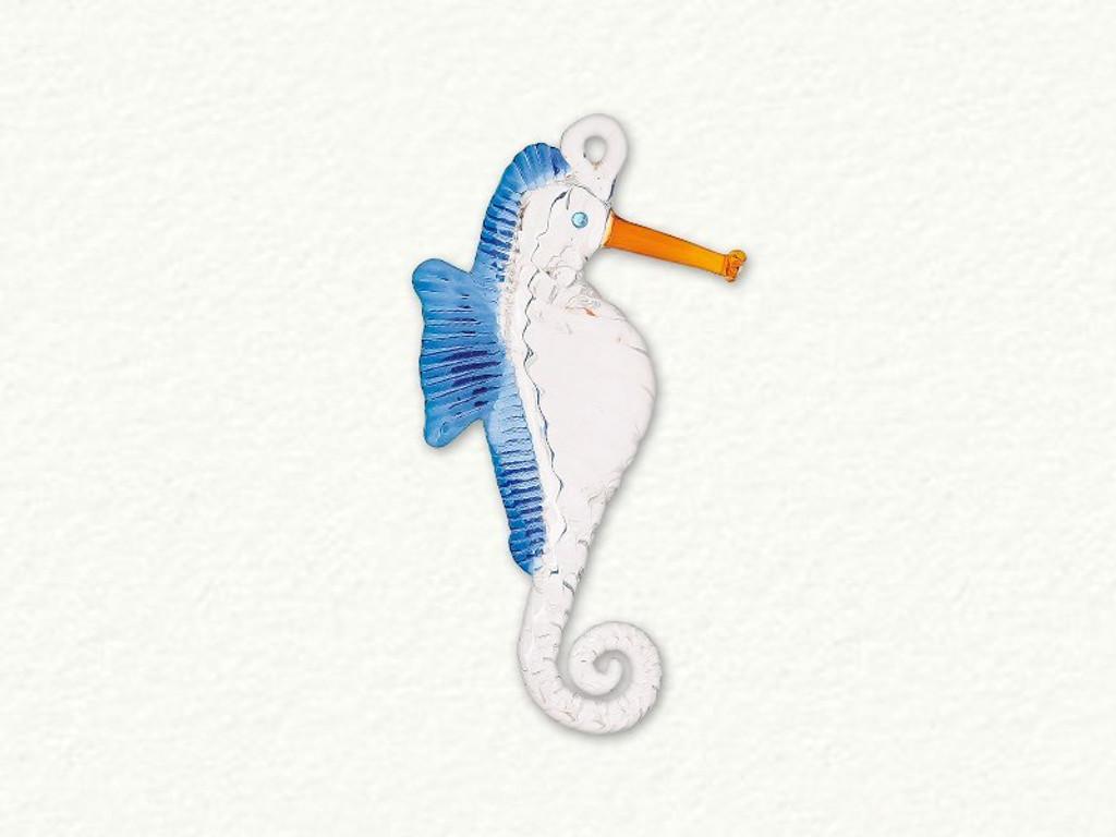 Egyptian Glass Seahorse