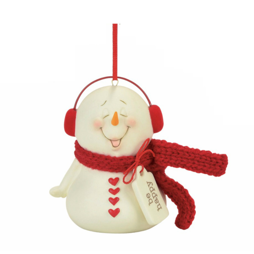 Department 56 - Snowpinions Be Happy Ornament
