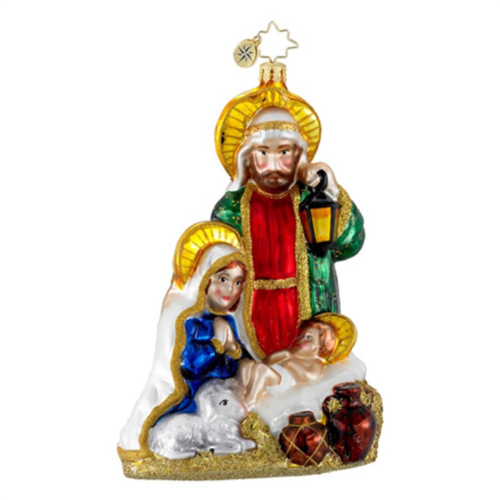 Radko - Heavenly Family Religious Nativity Christmas Ornament