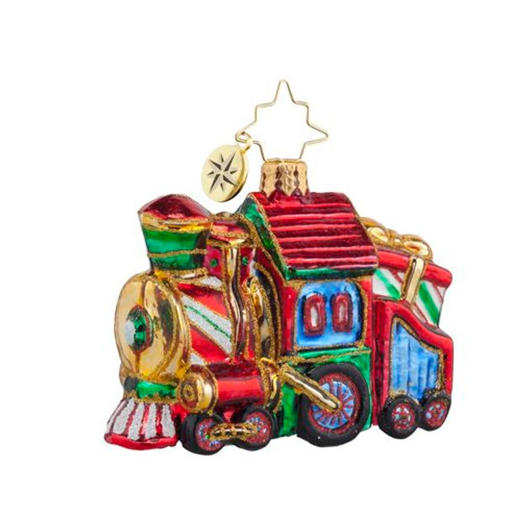 Radko - Sweet Chuggin' Along Gem Ornament